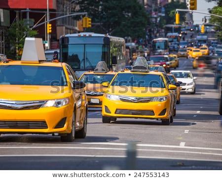 New York Manhattan şehir merkezinde Bina araba seyahat Stok fotoğraf © lunamarina