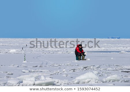 Ice Auger Stock photo © Stocksnapper