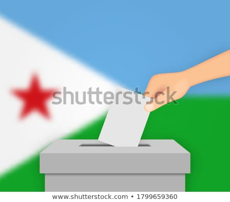Ballot box Djibouti Stock photo © Ustofre9