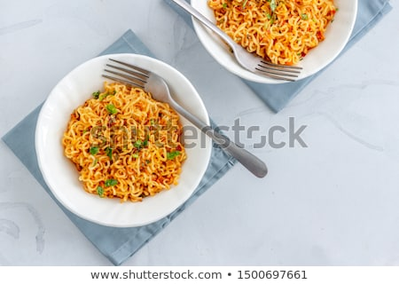 Instant noodles Stock photo © eddows_arunothai
