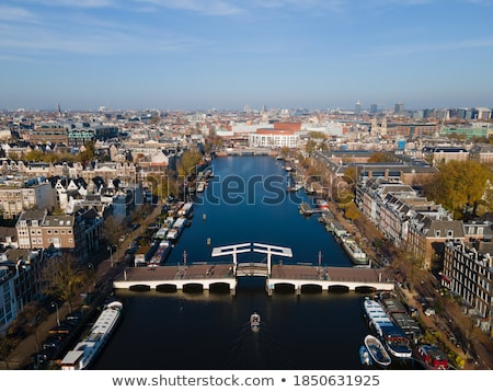 City view of Amsterdam, the Netherlands Stock photo © AndreyKr