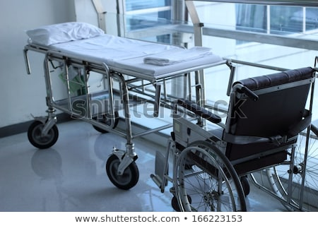 Schwarz Rollstuhl Krankenhaus Bild Stock foto © wavebreak_media
