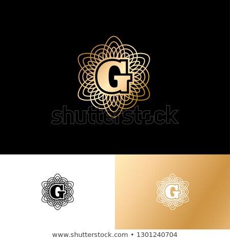 logo · design · modello · lettera · futuro · clean - foto d'archivio © netkov1