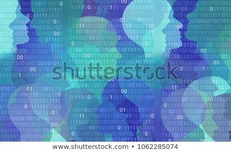 Veri gizlilik örnek gözler teknoloji iletişim Stok fotoğraf © Morphart