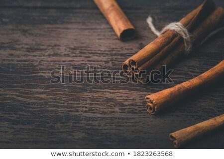 Cinnamon sticks. Selective focus Stock photo © Valeriy