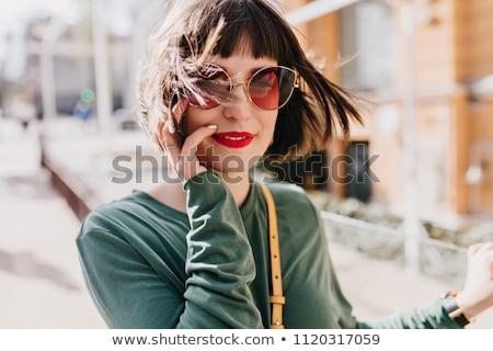 loiro · longo · cabelos · lisos · moda · cabelos · longos - foto stock © konradbak