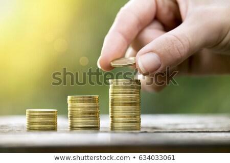 empresário · tempo · tempo · é · dinheiro · negócio · homem · trabalhar - foto stock © robuart