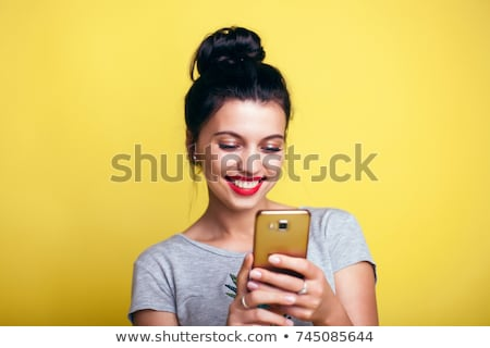 love messages on your smartphone Stock photo © adrenalina