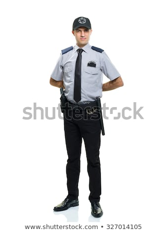 Stock photo: Happy Male Security Guard