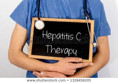 lever · infectie · menselijke · geïnfecteerde · virus · medische - stockfoto © zerbor