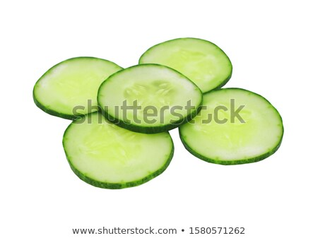 thin cucumber slices Stock photo © Digifoodstock