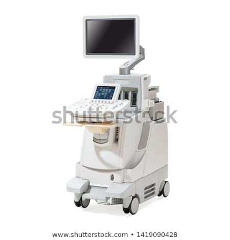 médico · máquina · hospital · monitor · medicina · cama - foto stock © simpson33