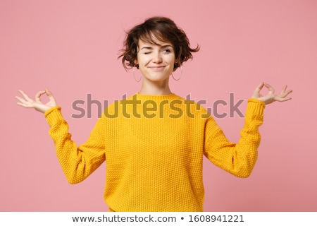 Female Student Funny Face Stock photo © dtiberio