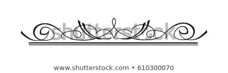 bağbozumu · girdap · dekoratif - stok fotoğraf © Loud-Mango
