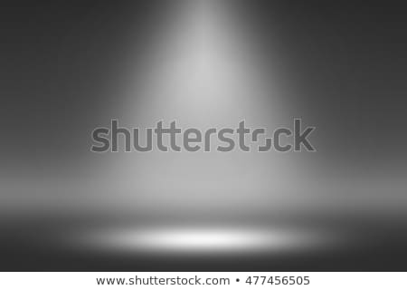 Produktu Spotlight czarny ciemne pokój fotograf Zdjęcia stock © Loud-Mango
