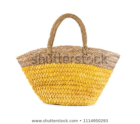 Wicker bag stock photo © Hofmeester