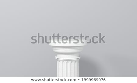 romano · iônico · colunas · isolado · ilustração · pedra - foto stock © pakete