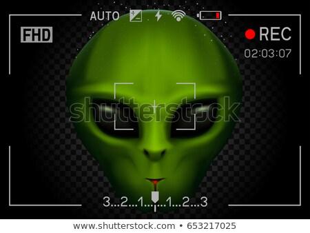 camera rec alien in dark Stock photo © romvo