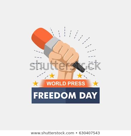 3 may press freedom day stock photo © olena