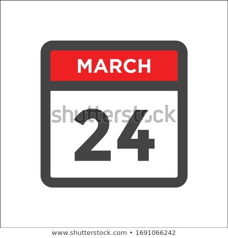 datum · kalender · Geel · inkt · papier · tijd - stockfoto © oakozhan
