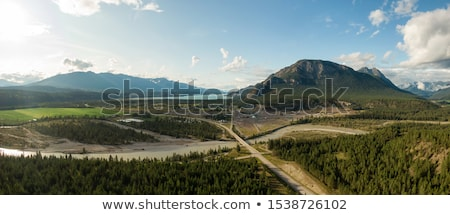 Stock photo: View of the rocky landscape