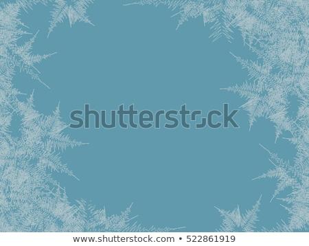 textúra · absztrakt · tél · közelkép · hó · háttér - stock fotó © g215