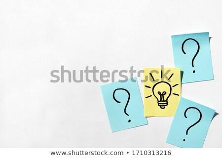 Motivation - Cartoon Yellow Word. Business Concept. Stock photo © tashatuvango