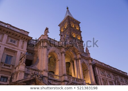 Basilica di Santa Maria Maggiore, Cappella Paolina in Rome. Italy Stock photo © Virgin