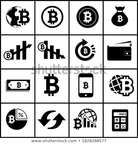 Bitbar Virtual Currency - Vector Coin Image. Stock photo © tashatuvango