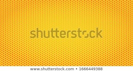 Amarelo laranja meio-tom retro vintage Foto stock © studiostoks