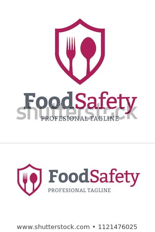 食品の安全 ロゴ ベクトル フォーマット 背景 キッチン ストックフォト © amanmana