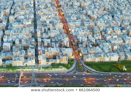 Tehran birds-eye view. Iran Stock photo © joyr