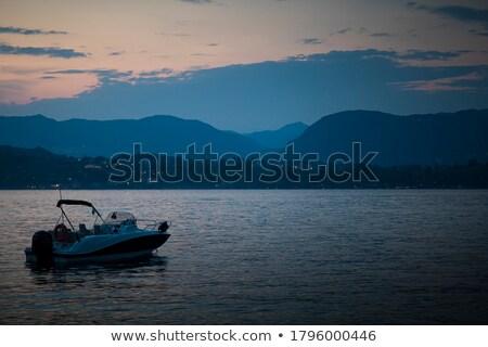 水 · 実例 · 高速 · 船 · 速度 · 波 - ストックフォト © bluering