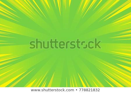manga hero in green background stock photo © chocolatebrandy
