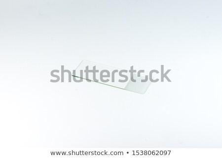 Folie weiß Illustration Hintergrund Kunst Zeichnung Stock foto © bluering