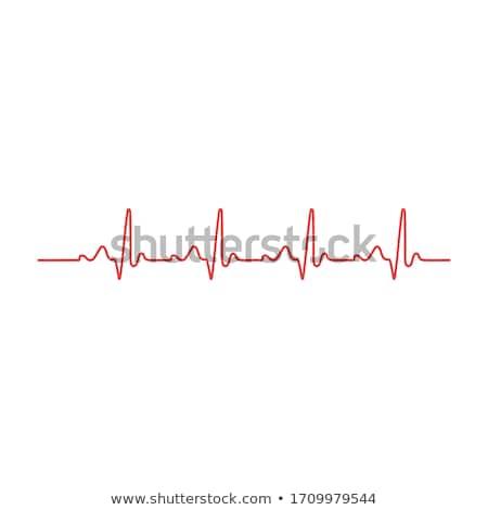 сердцебиение · контроля · линия · икона · веб · мобильных - Сток-фото © imaagio