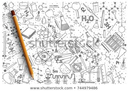 言葉 デザイン 科学 子 背景 芸術 ストックフォト © colematt