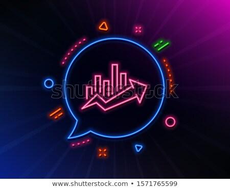 analytics neon label stock photo © anna_leni