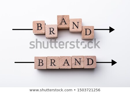 Bland In And Out Of Alignment Stock photo © AndreyPopov