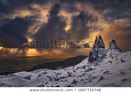 View from Storr Stock photo © lichtmeister