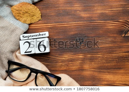 Cubes calendar 26th September Stock photo © Oakozhan