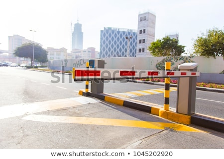 Automatic boom barrier Stock photo © magraphics