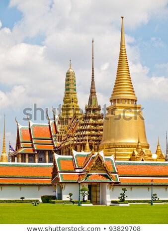 Thai géant stuc palais Bangkok Thaïlande Photo stock © nuttakit
