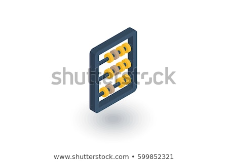 abacus 3d icon stock photo © cidepix