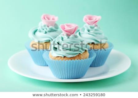 Cup cake on dish  Stock photo © stoonn