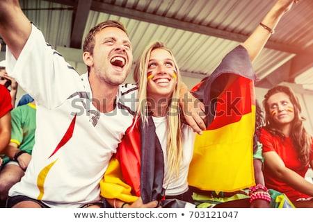 Szurkolók futball csapat világ futball háttér Stock fotó © photography33