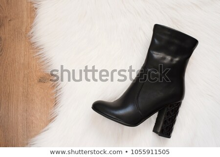 woman fashion boot stock photo © ozaiachin