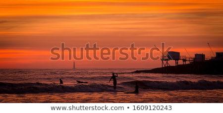 Farol luxuoso ver mar vermelho Foto stock © smithore