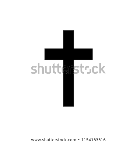 cross black stock photo © mariephoto