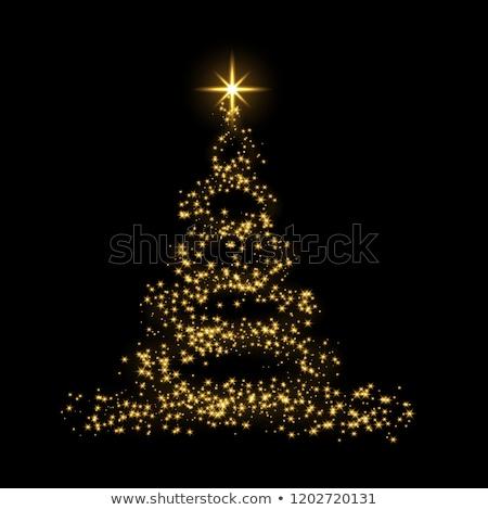 A Snow star shape ornament as Christmas tree decoration stock photo © 3523studio